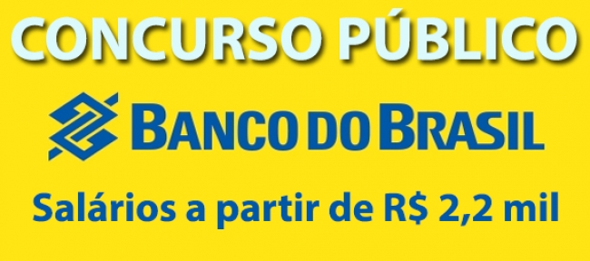 Edital Concurso Banco do Brasil