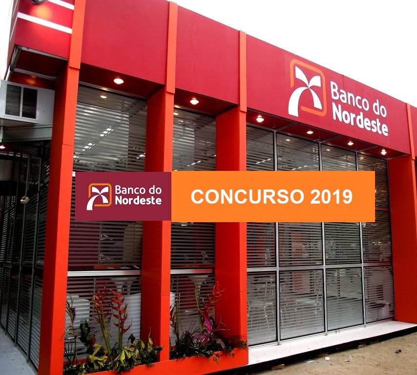 Concurso Banco do Nordeste 2019