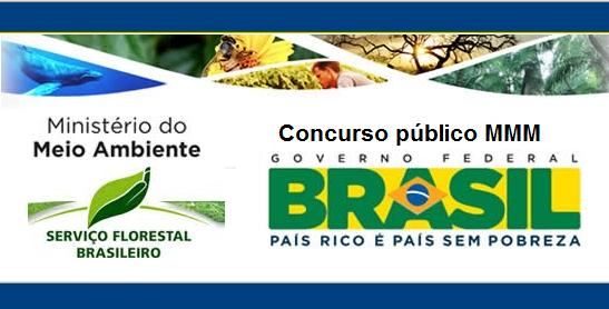 Concurso Ministério do Meio Ambiente 2019