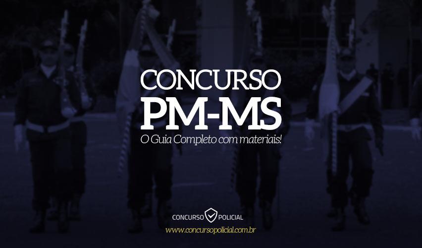 Concurso PM MS 2019