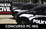 Concurso Polícia Civil MG 2022