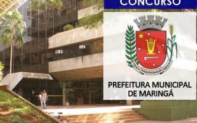Concurso Prefeitura de Maringá 2022