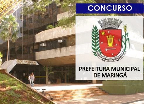Concurso Prefeitura de Maringá 2019