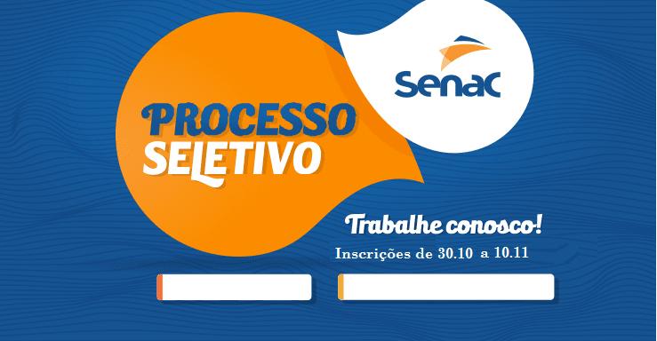 Concurso SENAC 2019
