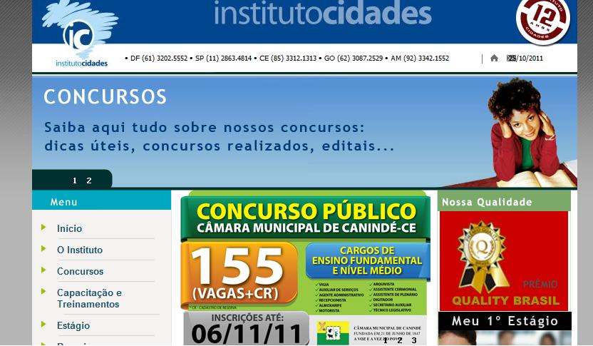Instituto Cidades Concursos 2019